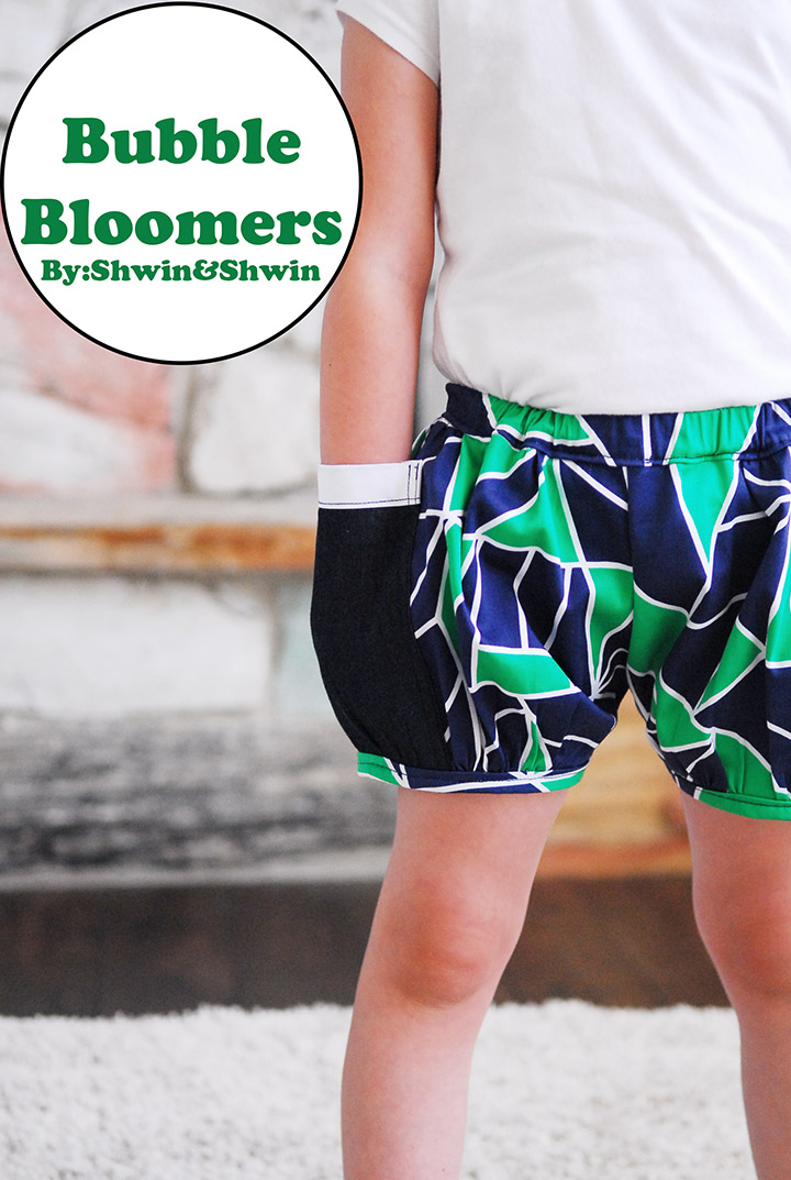 Bubble Bloomers Shorts On A Line Shwin And Shwin