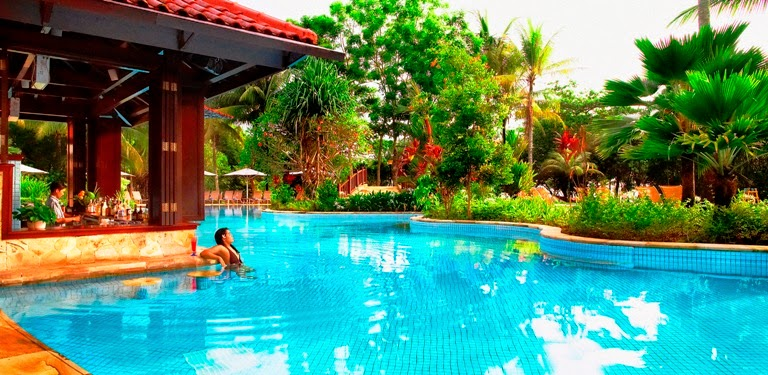 Bintan lagoon resort main pool
