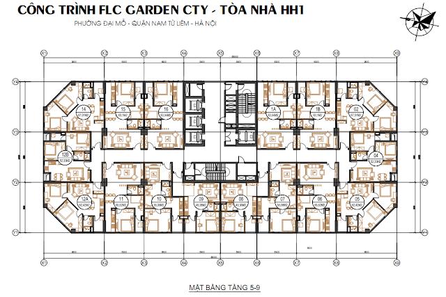 Mở bán chính thức tòa HH1 Flc Garden City Đại Mỗ