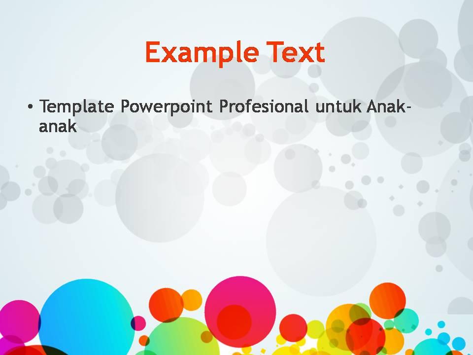 Template Powerpoint Keren Dan Profesional Untuk Anak Anak Deqwan1 Blog