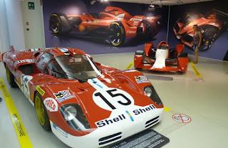 Museo Ferrari de Maranello.