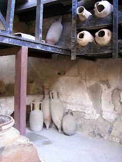 Italia; Italy; Italie; Campania; Herculano; Ercolano; Herculanum; Herculaneum; Almacén