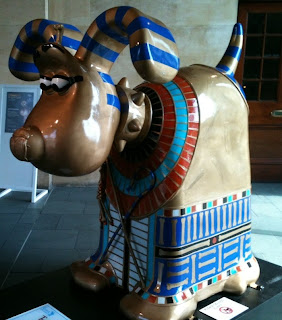 A Gromit in Egyptian guise