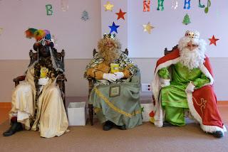 Visita de S.M los Reyes Magos de Oriente