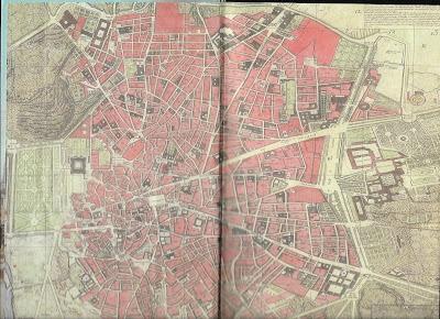 """Planos e Madrid, Madrid en el siglo XVIII, RAE en el XVIII, """"Hombres buenos"""""""