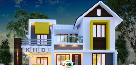 Cute And Dream Kerala Home Design 1600 Sq Ft. Keralahousedesigns.com