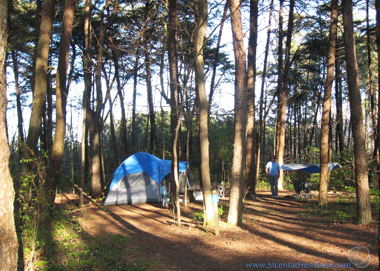 Merveilleux This Campground Costs Only $13.40 Per Night Plus Lodging Tax And A Booking  Fee. We Paid Around $80 For A Total Of Four Nights   What A Deal!