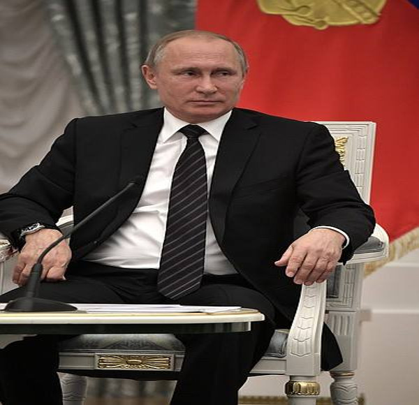 Vladimir Putin says will assist Raila Odinga in the coming elections. PHOTO | Courtesy AFP