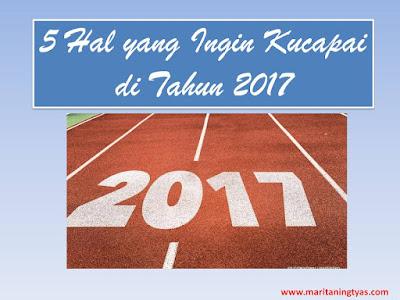 5 Hal yang Ingin Kucapai di Tahun 2017