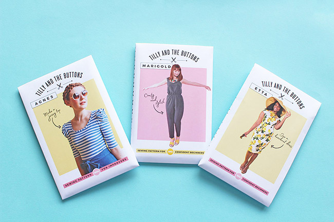Tilly and the Buttons sewing patterns new look