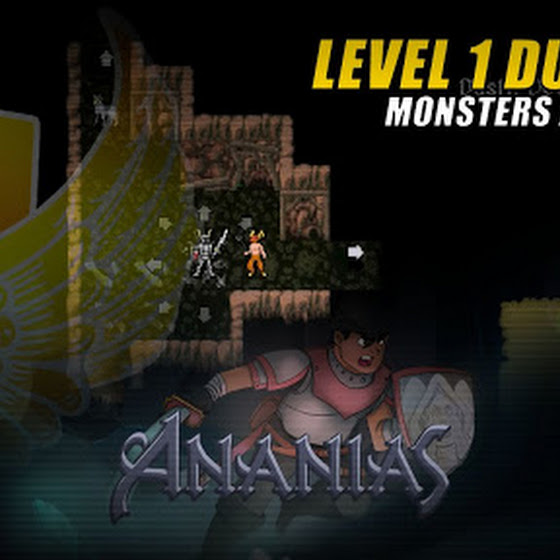 Ananias Roguelike ★ Level 1 Dungeon ★ Monsters All Around