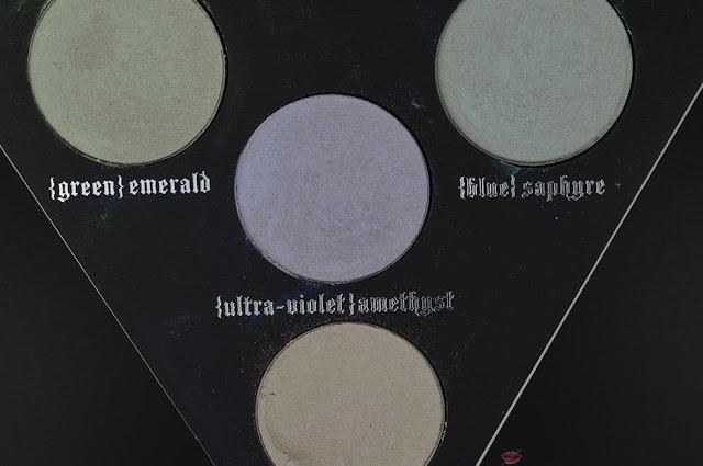 alchemist holographic palette kat von d close up pack, comparazioni, recensione, review