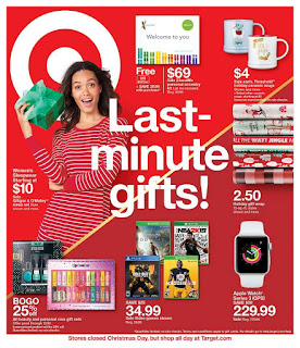 Target Last Minute Gifts Deals December 23 - 29, 2018