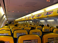 Ryanair interiør. Foto: Ruthann from Western Ireland. Bilde.