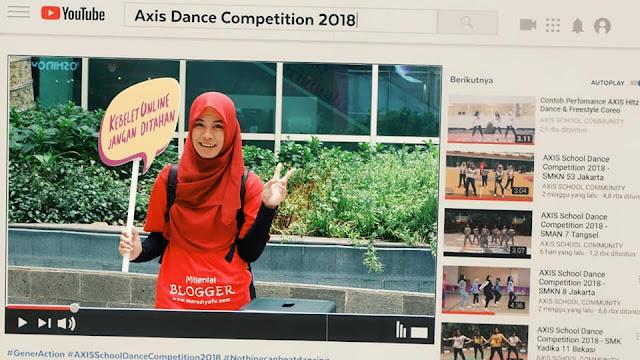 Axis Dance Competition  2018, Dorong Kreatifitas Pelajar