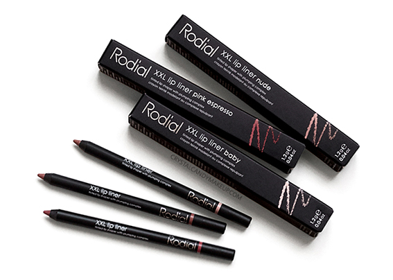 Rodial XXL Lip Liners Baby Nude Pink Espresso Review Photos