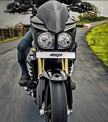 2016 Mahindra Mojo Tourer Edition front look