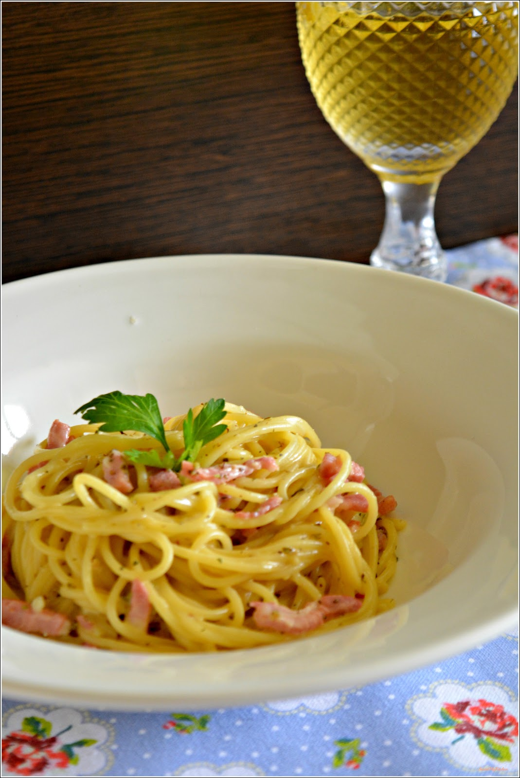 Sweet my Kitchen Esparguete Carbonara