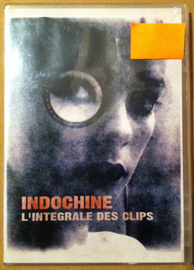 DVD - Indochine - L'integrale des clips (semi nuevo)