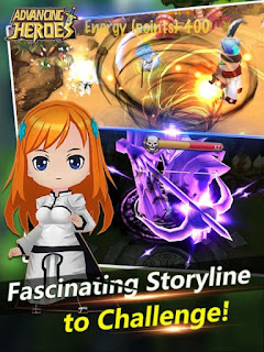 Advancing Heroes Apk v0.0.0.7 Mod (God Mode/1 Hit Kill) Terbaru for Android