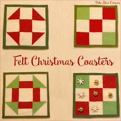 Felt Christmas Coasters