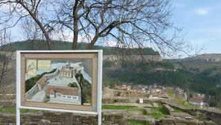 Fortaleza de Tsarevets.
