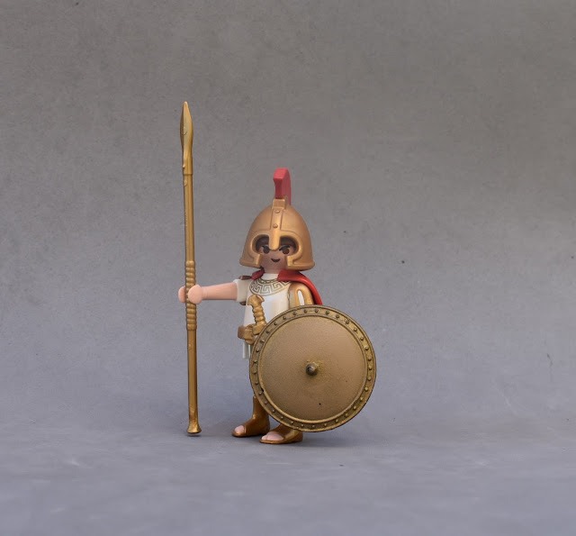 PLAYMOBIL CUSTOM FIGURE ANCIENT GREECE ARES