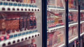 Japanese vending machine Tokyo.