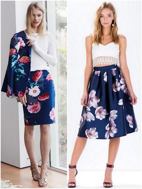 цветочный принт в одежде 2016
