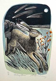 (prints) rabbit & hare