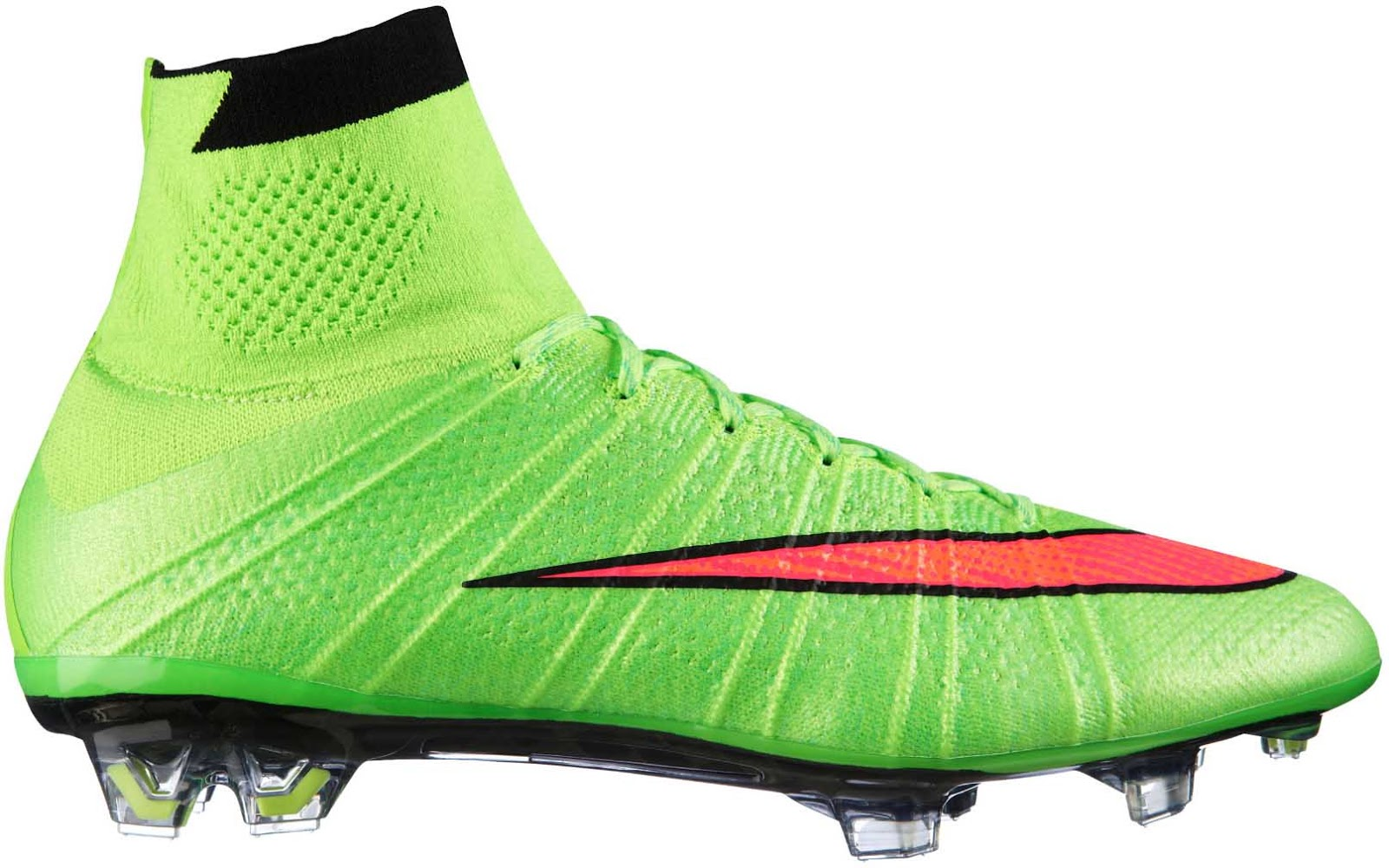 buy online a9c32 75573 ... wholesale nike mercurial superfly electric green hyper punch black volt  0c626 24f14
