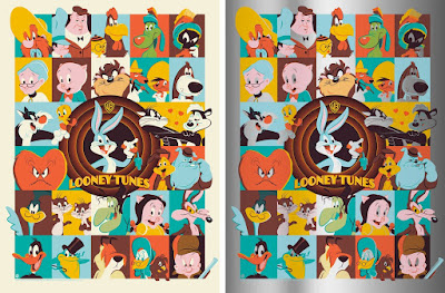 Looney Tunes Screen Print by Dave Perillo x Bottleneck Gallery