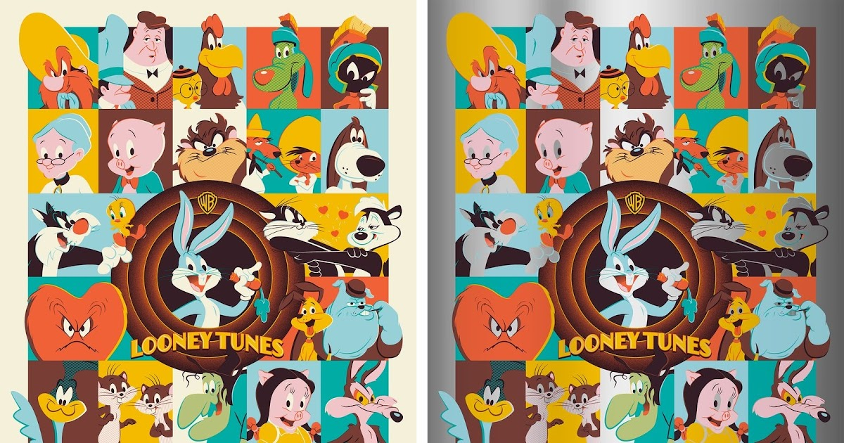 The Blot Says Looney Tunes Screen Print By Dave
