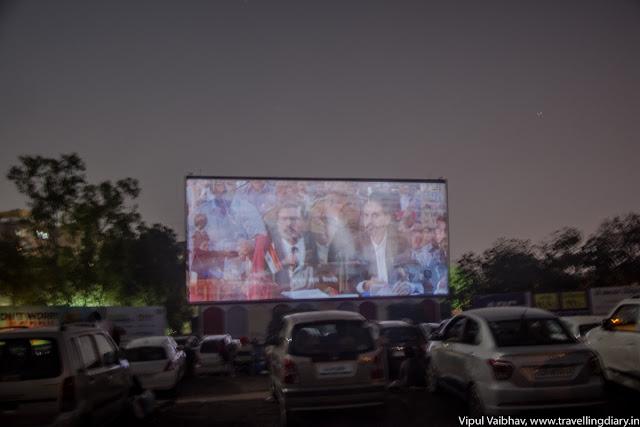 sunset drive-in cinema