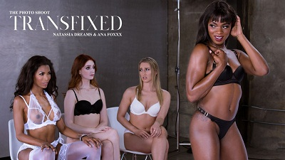 Transfixed – Natassia Dreams & Ana Foxxx – The Photo Shoot