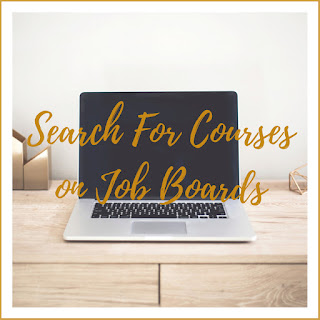 Search for Courses on Job Boards