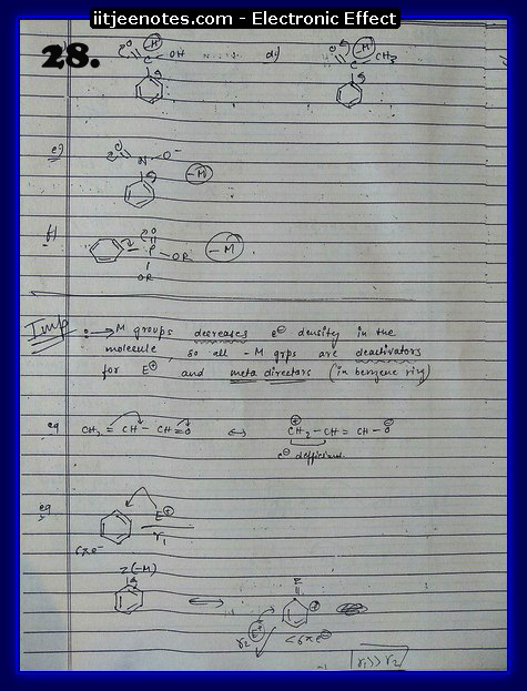 Electronic Effect Notes13