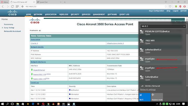 Menggabungkan RB Mikrotik dan AP Cisco – Pusat Pengetahuan