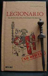 Portada del libro Legionario, de Philip Matyszak