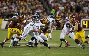 Wallpaper: Seahawks vs Redskins NFL