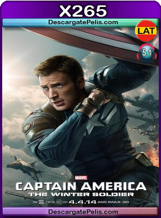 Capitán América y el soldado del invierno (2014) 1080P x265 Latino – Ingles