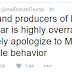 Lol. Donald Trump is still insisting that the cast of Hamilton apologize to Mike Pence