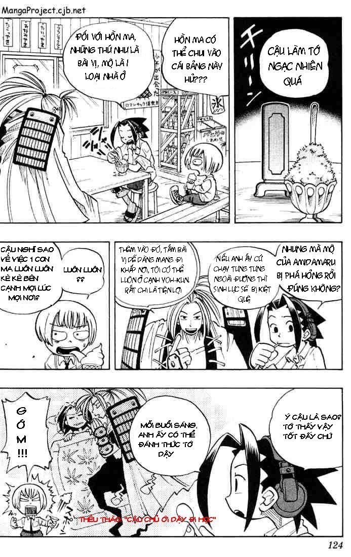 Shaman King [Vua pháp thuật] chap 5 trang 4