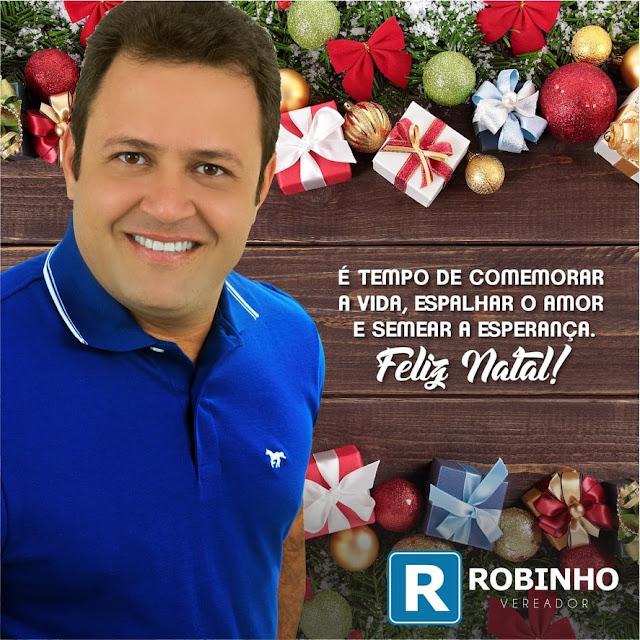 MENSAGEM DO VEREADOR ROBINHO