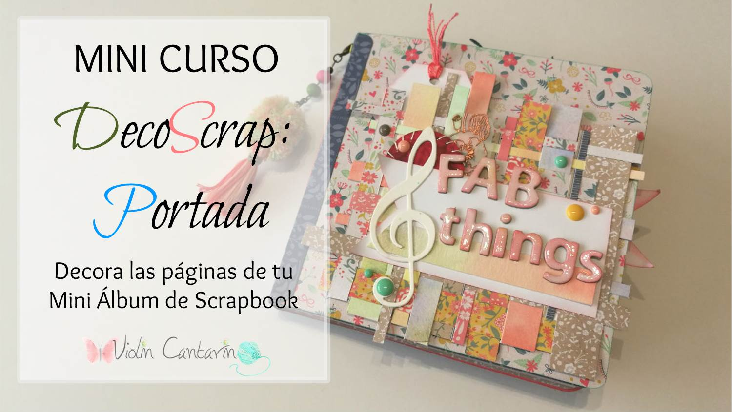 Mini lbum para principiantes parte 3 curso de scrapbook for Paginas decoracion online