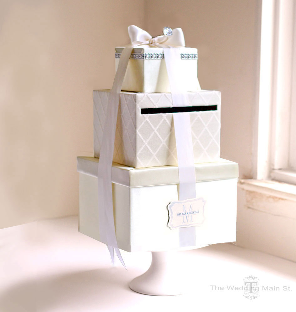 Card Box Ideas For Wedding Reception: DIY Wedding Card Box Tutorial