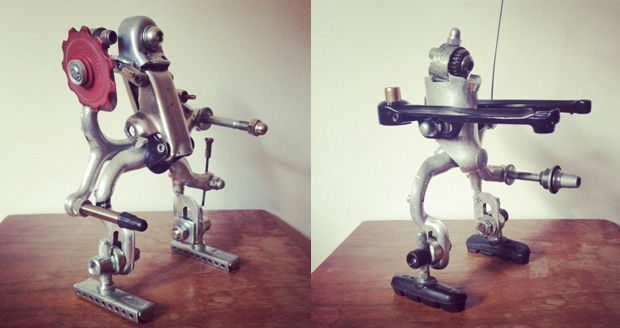 Robots Made from Recycled Bike Parts  Cool Sht You Can