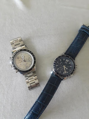 What type of man do you have? A Little Bit Of Something- silver band,Quartz Chronograph Diver Beze Watch