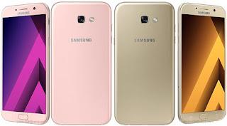 Samsung Galaxy A7 (2017) dengan Layar 5.7 inch
