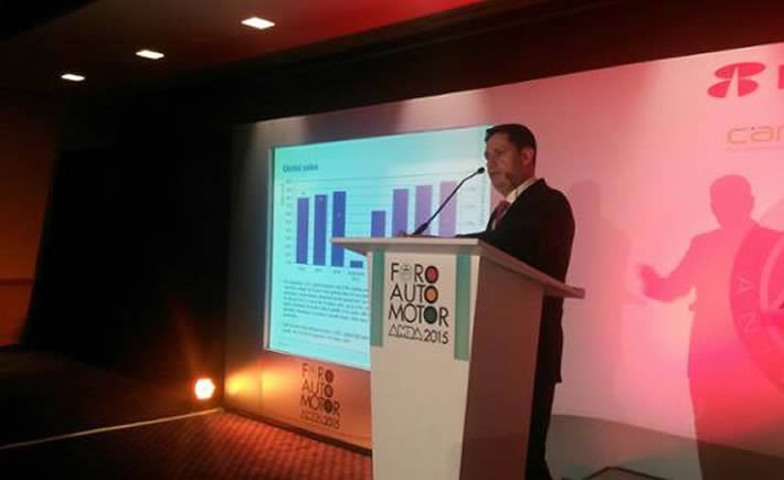 Guido Vildozo, director de IHS para América Latina. (Foto: AMDA)